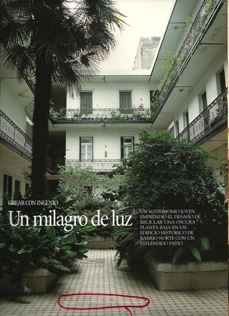 """Revista Living: Nota """"Un milagro de Luz"""""""